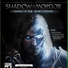 Middle-Earth Shadow Of Mordor Game Of The Year Edition Xbox One - Jocuri Xbox One, Role playing