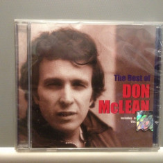 DON McLEAN - THE BEST OF (2001 /EMI REC ) - cd nou/sigilat/FOLK - ROCK - Muzica Folk emi records