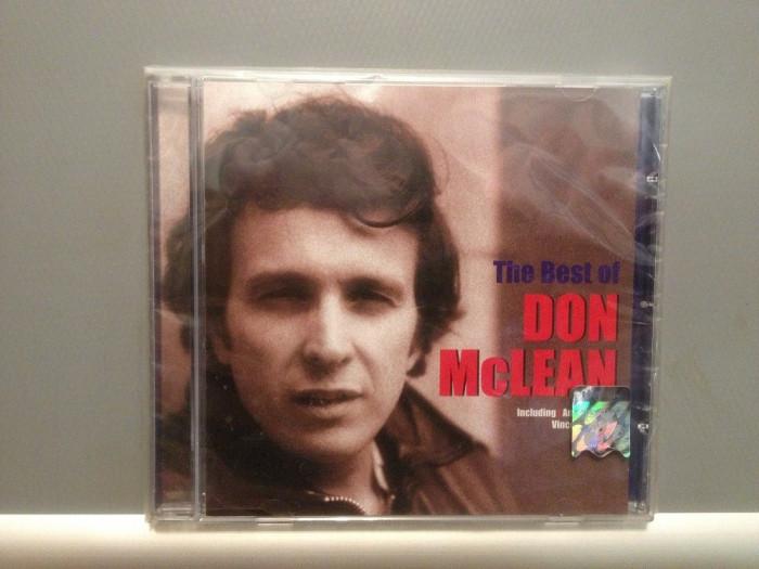 DON McLEAN - THE BEST OF (2001 /EMI REC ) - cd nou/sigilat/FOLK - ROCK