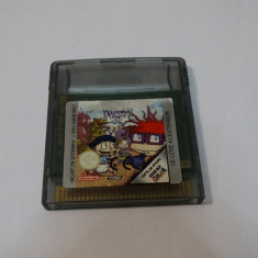 Joc Nintendo Gameboy Color - Razmoket Paris Le Film - Jocuri Game Boy Altele, Actiune, Toate varstele, Single player