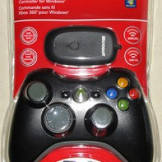 Controller Xbox 360 Compatibil Pc Wireless Black