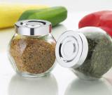 Set de 8 borcanele din sticla - pentru mirodenii sau condimente - Noi