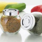 Set de 8 borcanele din sticla - pentru mirodenii sau condimente - Noi - Solnita