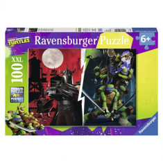Puzzle Ravensburger Testoasele Ninja Vs Shredder, 100 Piese