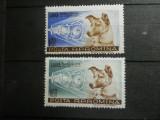 1957 LP 447  CATELUSA LAIKA, Nestampilat