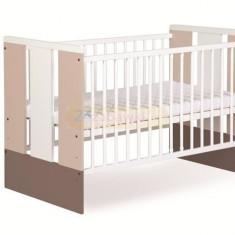 Patut Copii Din Lemn Klups Paula Latte - Patut lemn pentru bebelusi