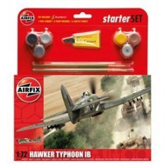 Kit Constructie Si Pictura Avion Hawker Typhoon Ib - Set de constructie Airfix