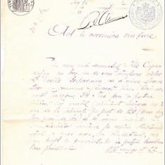 REGATUL ROMANIEI. Act de vanzare, Jud.Covurlui, Romania Mare, 1885