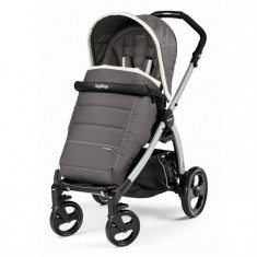 Carucior Book Plus Black and Silver Completo Peg Perego