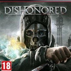 Dishonored Ps3 - Jocuri PS3 Bethesda Softworks, Actiune, 18+