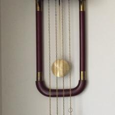 Ceas de perete cu pendul mecanic cu greutati ,marca Sars, made in Germany