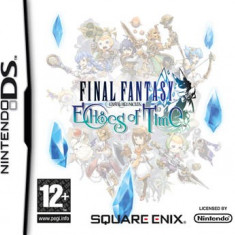 Final Fantasy Crystal Chronicles Echoes Of Time Nintendo Ds - Jocuri Nintendo DS Square Enix, Actiune, 12+