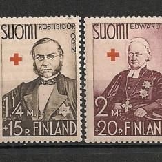 Finlanda.1938 Crucea Rosie-Personalitati CF.473, Nestampilat