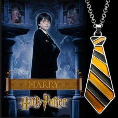 Colier / Pandativ / Lant - Harry Potter - Cravată / Tie - Nou / Țiplă - Pandantiv fashion