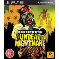 Red Dead Redemption Undead Nightmare Ps3 - Jocuri PS3 Rockstar Games, Shooting, 18+