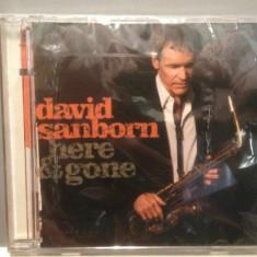 DAVID SANBORN - HERE & GONE (2008 /DECCA REC) - cd nou/sigilat/JAZZ - Muzica Jazz decca classics