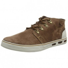 Pantofi pentru barbati Columbia Vulc N Vent Half Dome (1643881-256) - Pantofi barbati Columbia, Culoare: Maro