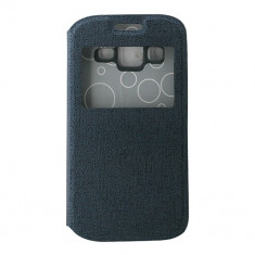 Toc Eco Samsung Galaxy Core Prime G360 Albastru - Husa Telefon Atlas, Piele Ecologica