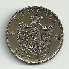 ROMANIA MIHAI I 500 LEI 1945 [14] XF+, livrare in cartonas - Moneda Romania, Cupru-Nichel
