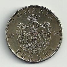 ROMANIA MIHAI I 500 LEI 1945 [7] XF++, livrare in cartonas - Moneda Romania, Cupru-Nichel