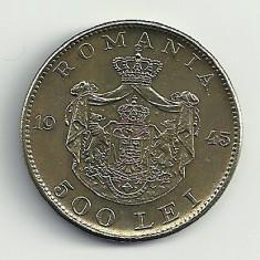 ROMANIA MIHAI I 500 LEI 1945 [9] XF++, livrare in cartonas - Moneda Romania, Cupru-Nichel