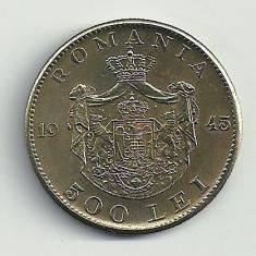 ROMANIA MIHAI I 500 LEI 1945 [5] XF++, livrare in cartonas - Moneda Romania, Cupru-Nichel