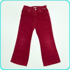IMPECABILI → Pantaloni catifea, de calitate, H&M → fetite | 4—5 ani | 105—110 cm