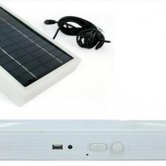 Lampa Cu 40 LED-uri Si Incarcare 220V Sau Solara GD1040S MP002WP