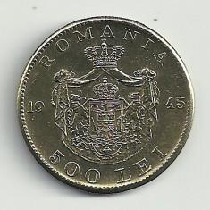 ROMANIA MIHAI I 500 LEI 1945 [4] XF+++, livrare in cartonas - Moneda Romania, Cupru-Nichel