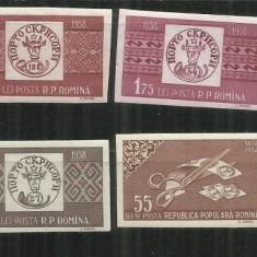 ROMANIA 1958 - CENTENARUL MARCII POSTALE ROMANESTI - LP 463 a - MNH - Timbre Romania, Nestampilat