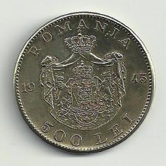 ROMANIA MIHAI I 500 LEI 1945 [3] XF+++, livrare in cartonas - Moneda Romania, Cupru-Nichel