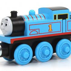 Locomotiva Thomas, colectia Thomas si prietenii sai, Fisher Price - Trenulet Fisher Price, 2-4 ani, Lemn, Baiat