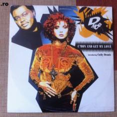 D Mob introducing C mon and get my love disc vinil maxi single muzica pop dance - Muzica Dance