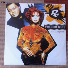 D Mob introducing C mon and get my love disc vinil maxi single muzica pop dance - Muzica Dance