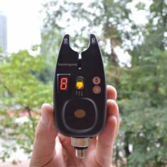 Set 2 Senzori Avertizori Digitali Eagle King Yang Albi Rezistenta Ploaie - Avertizor pescuit, Electronice