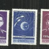 ROMANIA 1962 - PRIMUL ZBOR IN GRUP - VOSTOK3 SI 4 - LP 547 - MNH - Timbre Romania, Nestampilat