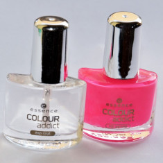 SET OJA PENTRU MANICHIURA FRENCH ESSENCE COLOUR ADDICT FRENCH PEDICURE SET