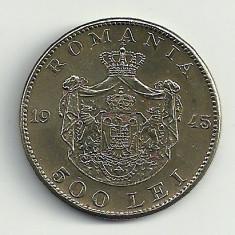 ROMANIA MIHAI I 500 LEI 1945 [8] XF++, livrare in cartonas - Moneda Romania, Cupru-Nichel