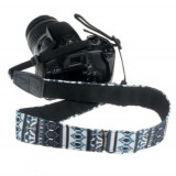 Neck Strap Camera Grip motive FOLK curea aparat foto DSLR CANON NIKON