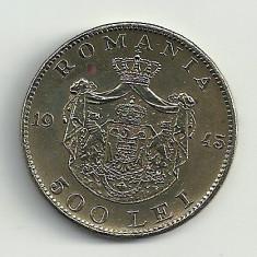 ROMANIA MIHAI I 500 LEI 1945 [13] XF+, livrare in cartonas - Moneda Romania, Cupru-Nichel