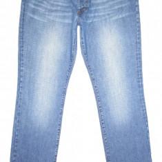 JUST CAVALLI - Made in Italy (MARIME: 38) - Talie = 93 CM / Lungime = 118 CM - Blugi barbati ROBERTO CAVALLI CLASS, Culoare: Albastru, Prespalat, Drepti, Normal