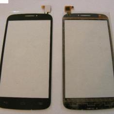 Geam cu Touchscreen Alcatel POP C7 Negru Original - Touchscreen telefon mobil