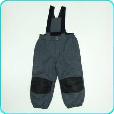 Pantaloni tip salopeta de iarna, caldurosi, impermeabili, C&A _ 18-24 luni | 98, Marime: Alta, Culoare: Gri, Baieti