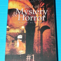 BEST OF MYSTERY & HORROR REVISTA DE SUSPANS 1 - MIRCEA PRICAJAN (ED) (05098 - Carte Horror