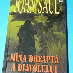 JOHN SAUL - MINA / MANA DREAPTA A DIAVOLULUI (05087 - Carte Horror