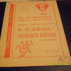 Program     UTA   -  Tatabanyai