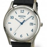 Ceas Boccia barbatesc cod 3562-01 - pret 359 lei (NOU, Original) - Ceas barbatesc, Casual, Quartz, Titan, Piele, Data