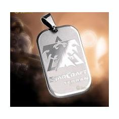 Dog Tag (DogTag) Starcraft Terran Titanium, Wings of Liberty - Pandantiv fashion