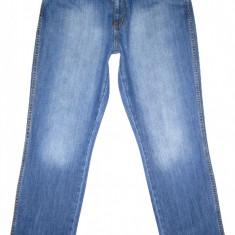 Blugi WRANGLER - (MARIME: 36 x 32) - Talie = 90 CM / Lungime = 109, 5 CM - Blugi barbati Wrangler, Culoare: Albastru, Prespalat, Drepti, Normal