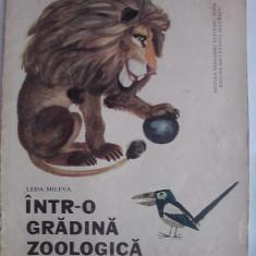Intr-o gradina zoologica - Leda Mileva / C64P - Carte de povesti